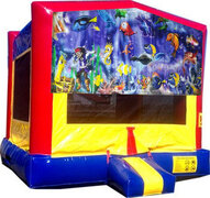 (C) Friendly Fish Bounce House