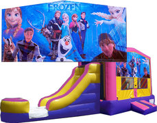 (C) Frozen Girl Bounce Slide Combo