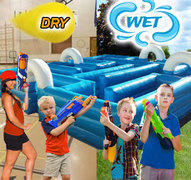 (C) Inflatable Tag Maze 35ft - Wet or Dry