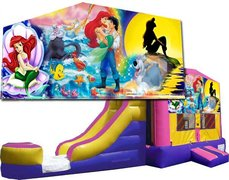 (C) Little Mermaid Bounce Slide Combo