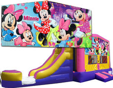 (C) Minnie Mouse Bounce Slide Combo