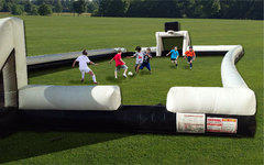 (C) Soccer Stadium - Inflatable - with balls