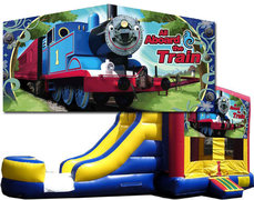 (C) Train Bounce Slide Combo