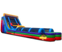 (D) 24ft Vertical Rush Dual Lane Slip n Slide