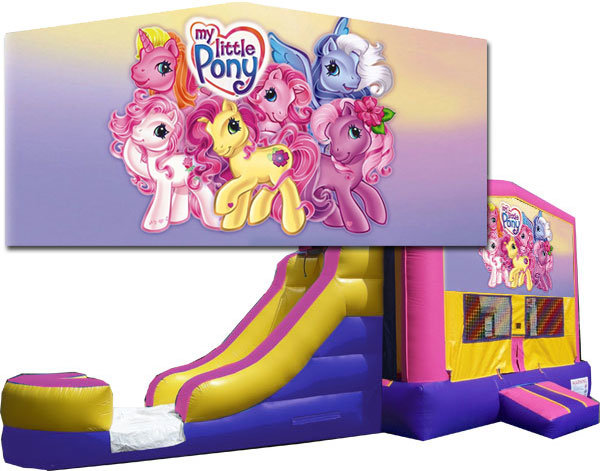 My Little Pony Bounce Slide Combo