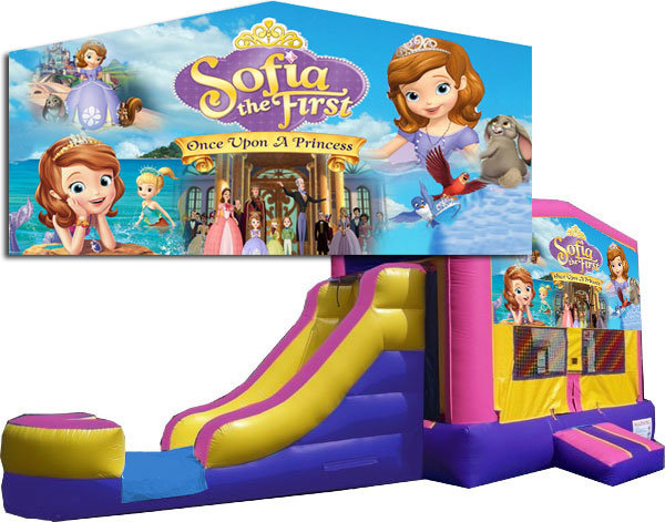 (C) Sofia the First 2 Lane Combo -