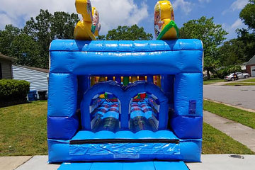 Wet Obstacle Course Rental
