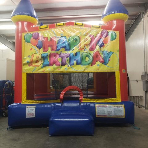 Happy Birthday 2 Medium Bounce House