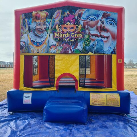 Mardi Gras Medium Bounce House