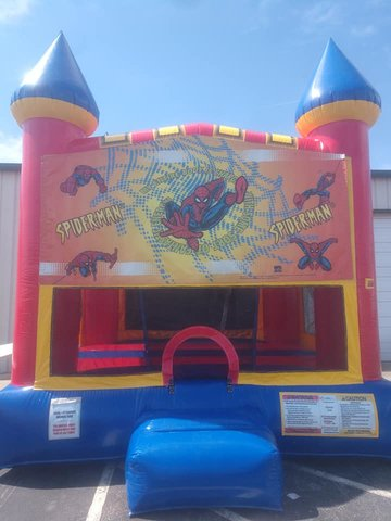 Spiderman 2 Medium Bounce House