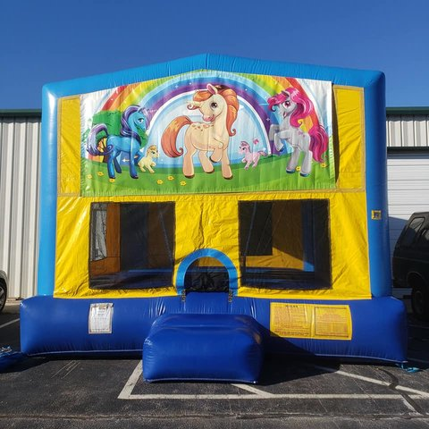 Unicorn 2 Bounce House Large