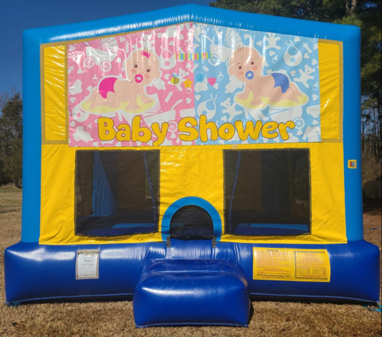 Baby Shower Bounce House Large