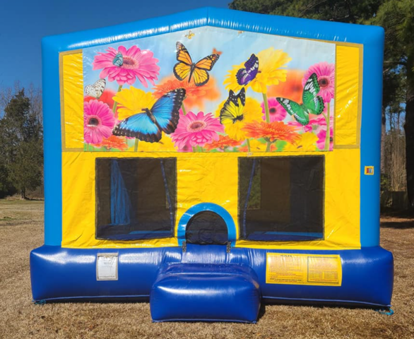 Butterflies Bounce House Large