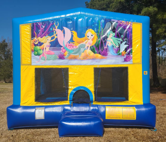 Mermaids Bounce House Large