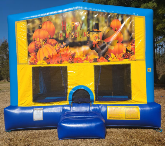 Thanksgiving Bounce House Large
