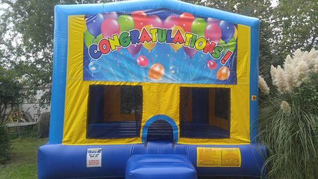 Congratulations Bounce House Large