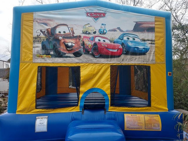 Disney Cars Bounce House Large