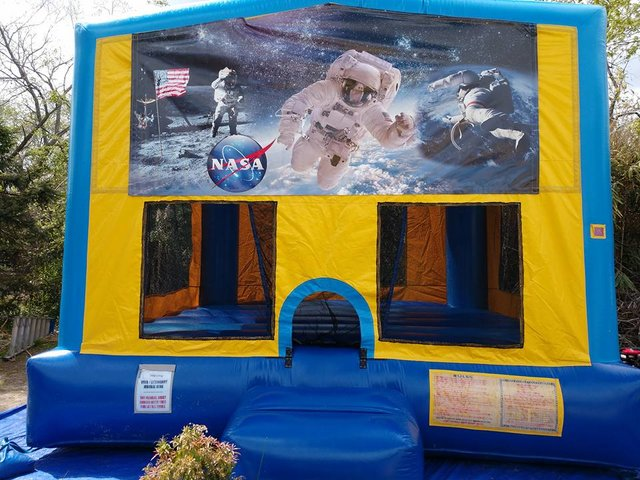 NASA Bounce House Large