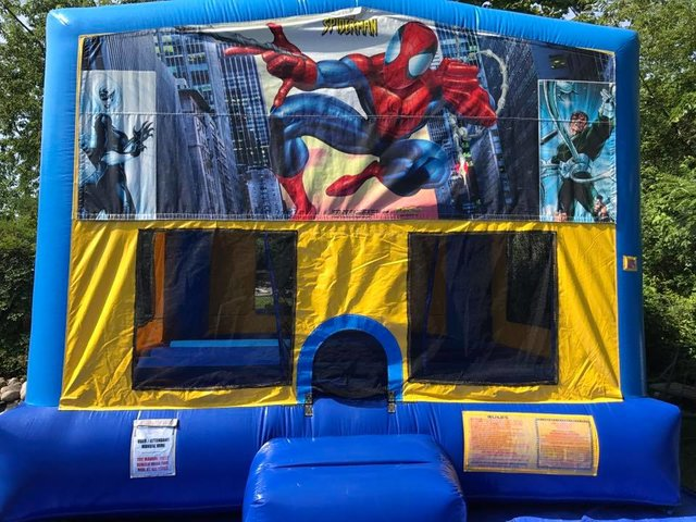 Spiderman 1 Bounce House Large