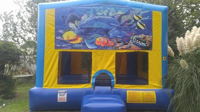 Undersea Bounce House Large