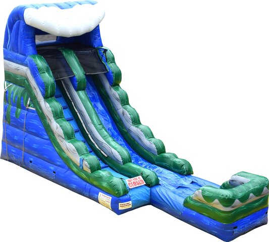16ft Blue Wave Dry Slide