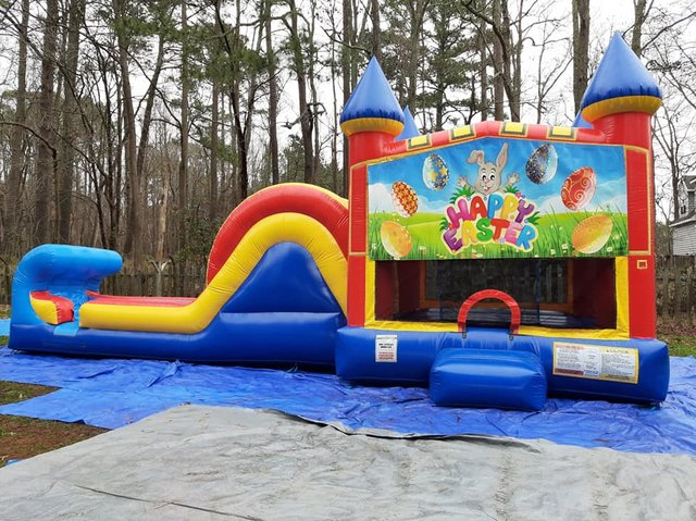 Easter 2 Castle Single Slide Wet Combo
