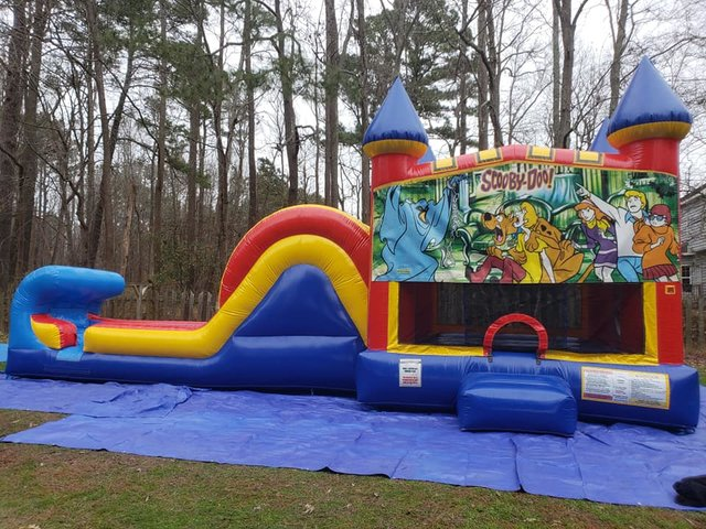 Scooby Doo Castle Single Slide Dry Combo