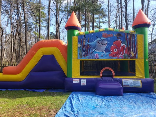 Finding Nemo Castle Double Slide Dry Combo