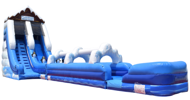 20ft Polar Blast Tubing Wet Slide