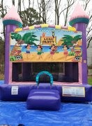 Luau Party 1 Dazzling Medium Bounce House