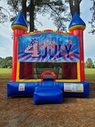 4th of July Medium Bounce House