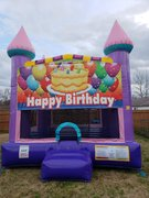 Happy Birthday 1 Dazzling Medium Bounce House