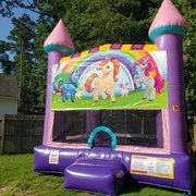 Unicorn 2 Dazzling Medium Bounce House