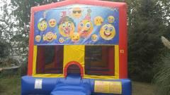 Emoji Party Bounce House