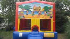 Luau Party Bounce House