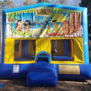 Luau Party 2 Bounce House Large