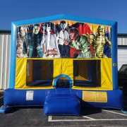 Monsters Bounce House Large