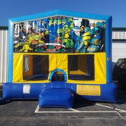 TMNT Bounce House Large