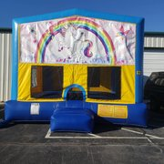 Unicorn 1 Bounce House Large