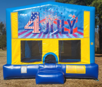 4th of July Bounce House Large