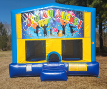 Graduation 2 Bounce House Large