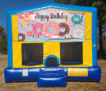 Happy Birthday 5 Bounce House Large