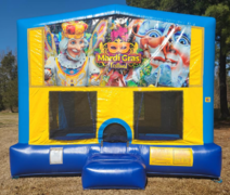 Mardi Gras Bounce House Large