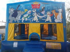 Aristocats Bounce House Large