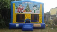 Christmas 1 Bounce House Large
