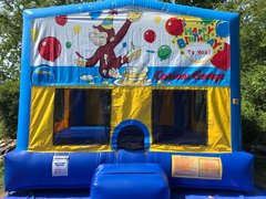 Curious George Bounce House Large