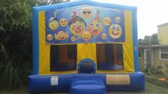 Emoji Party Bounce House Large