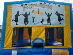 Graduation 1 Bounce House Large