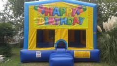 Happy Birthday 2 Bounce House Large