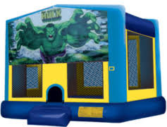 Hulk Bounce House Large